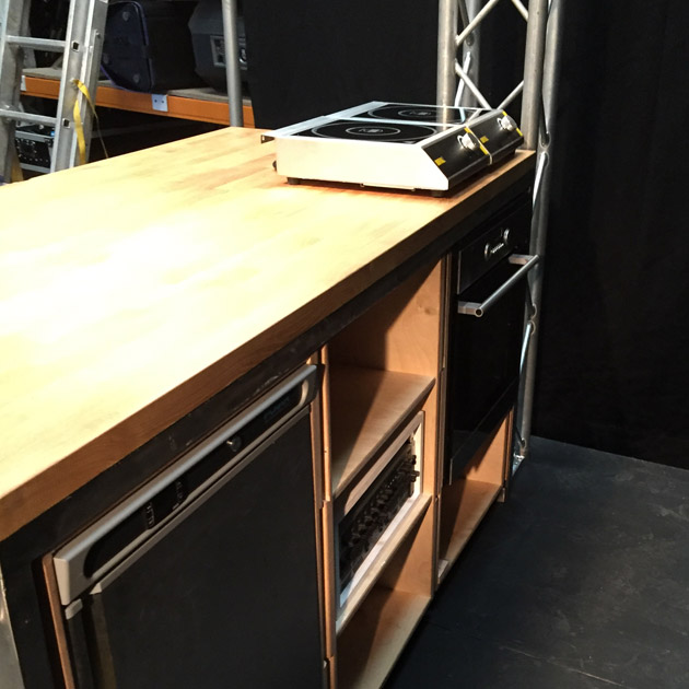 Demo Kitchen Hire Bes Systems Audio Lighting Staging